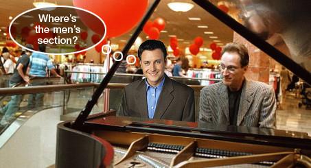 Harrison loves to shop!