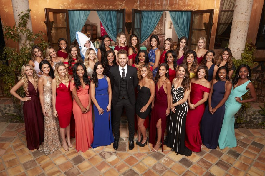 "THE BACHELOR - When Bachelorette Andi Dorfman said goodbye to Nick Viall just as he was preparing to pick out a ring for her, he was devastated. When Nick walked up to Kaitlyn Bristowe with an engagement ring in his pocket, only to be sent home, he was crushed. How could one man endure so much heartbreak? If you believe that ""what doesn't kill you makes you stronger,"" Nick Viall, 35, a technology salesman from Milwaukee, Wisconsin, is back stronger than ever, ready and eager to begin his search for true love on the  21st season of ABC's  hit romance reality series ""The Bachelor,"" premiering on MONDAY, JANUARY 2 (8:00-10:01 p.m. EST), on the ABC Television Network. (ABC/Craig Sjodin) CORRINE, RAVEN, SARAH, LAUREN, LACEY, SUSANNAH, ANGELA, DOMINIQUE, ALEXIS, ELIZABETH W., KRISTINA, OLIVIA, BRIANA, NICK VIALL, DANIELLE M., WHITNEY, JASMINE, JAIMI, IDA MARIE, VANESSA, TAYLOR, HAILEY, RACHEL, BRITTANY, ASTRID, CHRISTEN, JOSEPHINE, ELIZABETH ""LIZ"", MICHELLE, DANIELLE L., JASMINE G."